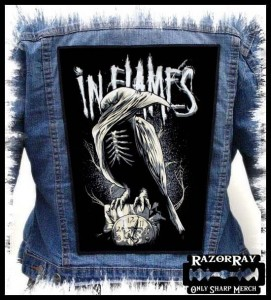 IN FLAMES - Sounds of a Playground Fading -- Backpatch