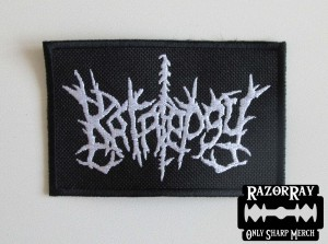 KATALEPSY [white] -- Embroidered Patch