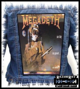 MEGADETH - So Far, So Good... So What! -- Backpatch