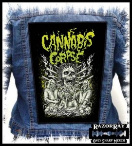 CANNABIS CORPSE -- Backpatch