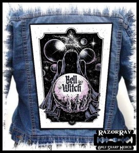 BELL WITCH - Into Space -- Backpatch