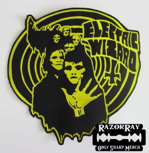 ELECTRIC WIZARD - Ghouls -- Embroidered Backpatch