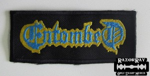ENTOMBED -- Embroidered Patch