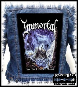 IMMORTAL - At the Heart of Winter -- Backpatch