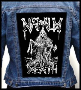 NAPALM DEATH - Skeletons -- Backpatch