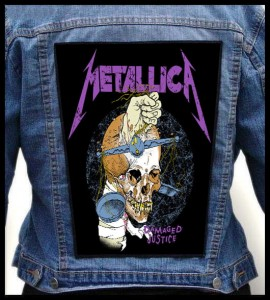 METALLICA - Damaged Justice -- Backpatch
