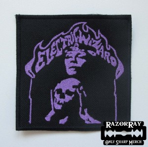 ELECTRIC WIZARD - Witch [purple] -- Embroidered Patch