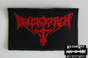 ARCKANUM [red] -- Embroidered Patch