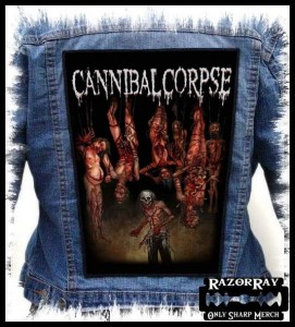 CANNIBAL CORPSE - Torture -- Backpatch