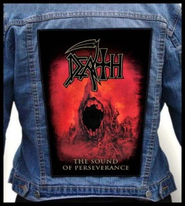 DEATH - The Sound of Perseverance -- Backpatch