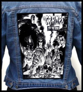 THE CRAMPS - ...Off the Bone -- Backpatch