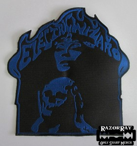ELECTRIC WIZARD - Skull -- Embroidered Backpatch