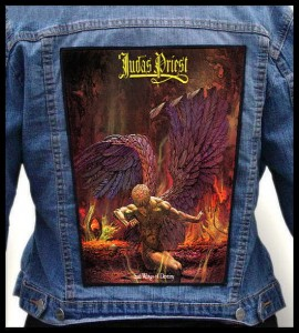JUDAS PRIEST - Sad Wings Of Destiny -- Backpatch