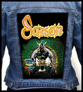 SAXON - Warrior -- Backpatch