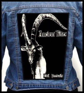 ANCIENT RITES - Evil Prevails... -- Backpatch
