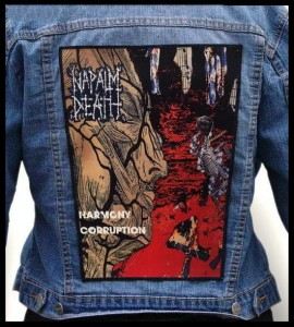 NAPALM DEATH - Harmony Corruption -- Backpatch