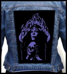 ELECTRIC WIZARD - Skull -- Backpatch