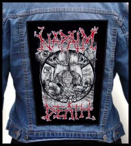 NAPALM DEATH - Easy Meat -- Backpatch