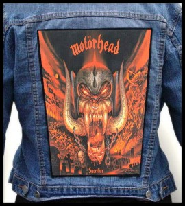 MOTORHEAD - Sacrifice -- Backpatch