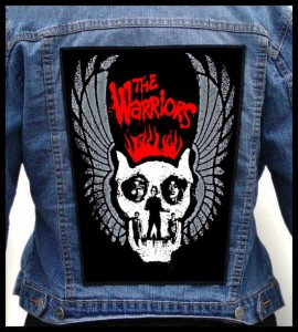 THE WARRIORS - Wings -- Backpatch