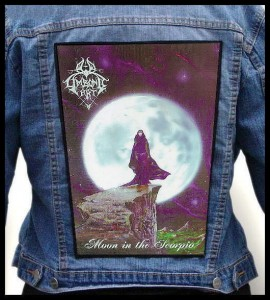 LIMBONIC ART - Moon in the Scorpio -- Backpatch