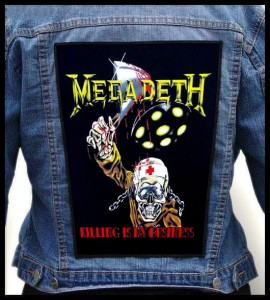 MEGADETH - Killing Is My Business -- Backpatch