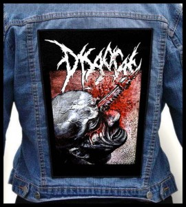 DISGORGE - Cranial Impalement #2 -- Backpatch