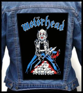 MOTORHEAD - Axeman -- Backpatch