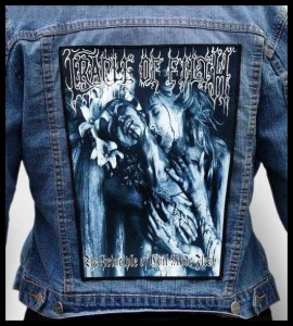 CRADLE OF FILTH - The Principle of Evil Made Flesh -- Backpatch
