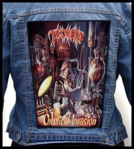 TANKARD - Chemical Invasion -- Backpatch