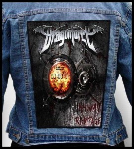 DRAGONFORCE - Inhuman Rampage -- Backpatch