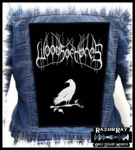 WOODS OF YPRES - Raven -- Backpatch