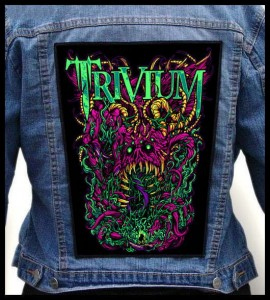 TRIVIUM - Monster -- Backpatch