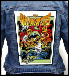 THE HELLACOPTERS - Monster -- Backpatch