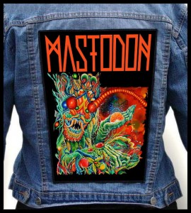 MASTODON - Once More 'Round the Sun -- Backpatch