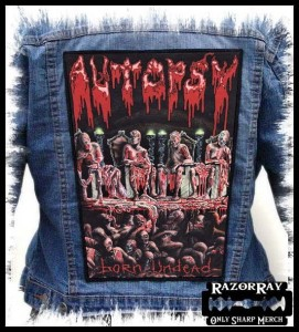AUTOPSY - Born Undead -- Backpatch