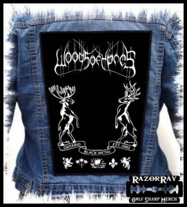 WOODS OF YPRES -- Backpatch