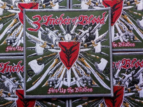 3 INCHES OF BLOOD - FIRE UP THE BLADE [grey border] --- patch.JPG