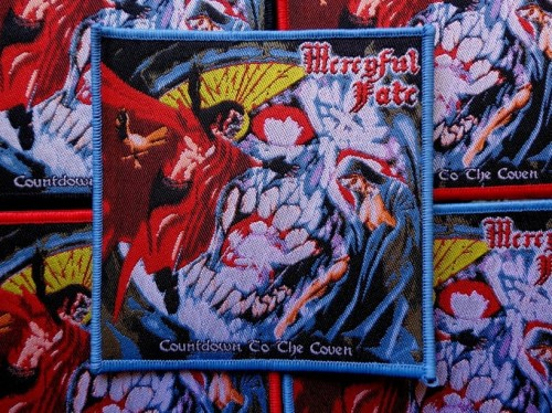 MERCYFUL FATE - COUNTDOWN TO THE COVEN [blue border] --- patch.JPG