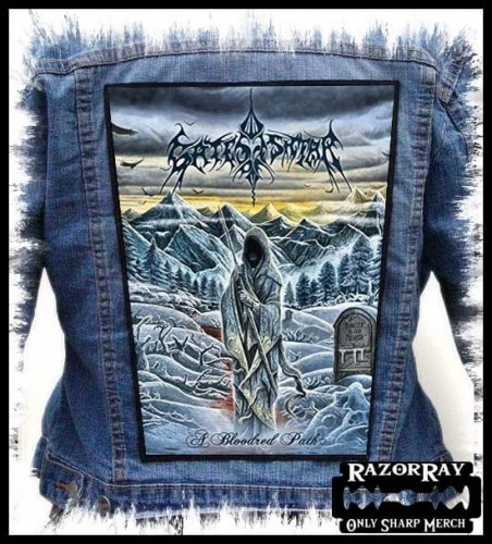 GATES OF ISHTAR - A Bloodred Path -- Backpatch