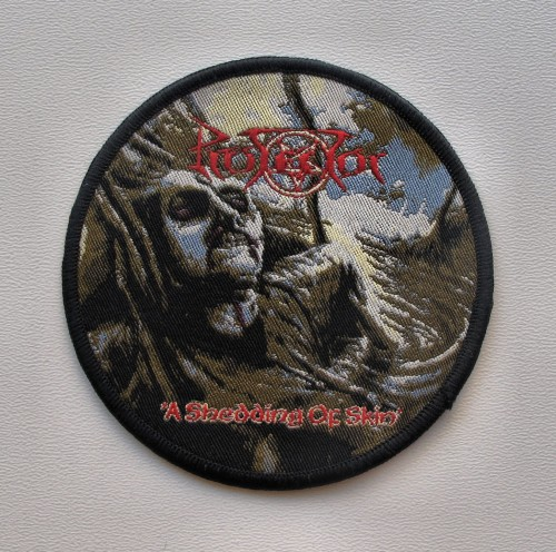 PROTECTOR - A Shedding of Skin --- woven patch.JPG