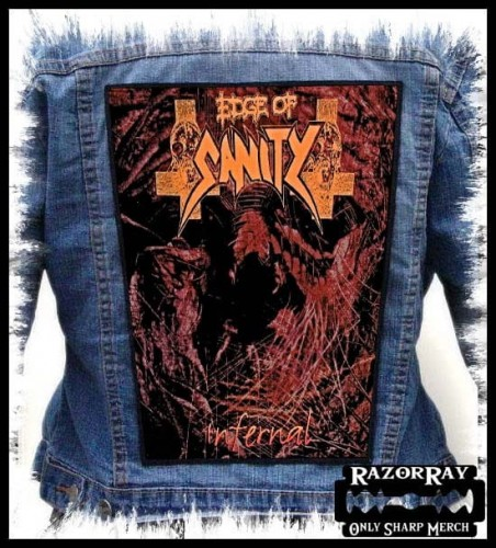 EDGE OF SANITY - Infernal --- Backpatch Back Patch.jpg