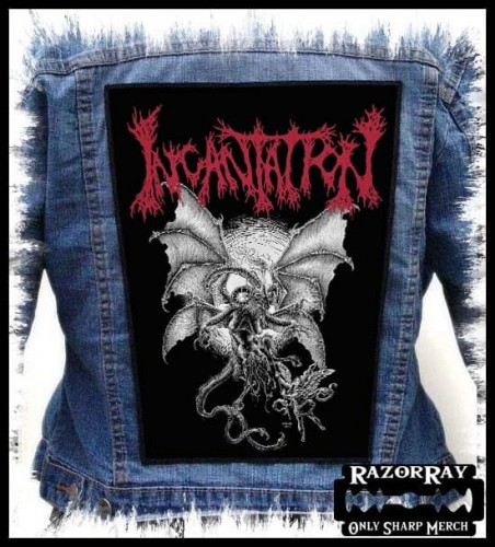 INCANTATION - Battle --- Backpatch Back Patch.jpg