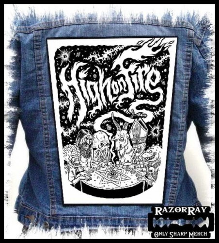 HIGH ON FIRE - Occultic Game --- Backpatch Back Patch.jpg