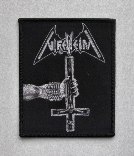 NIFELHEIM - Crucifix [black border] --- patch.JPG