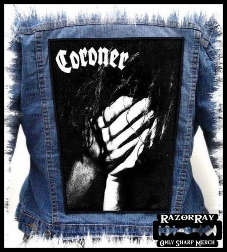 CORONER - No More Color --- Backpatch Back Patch.jpg