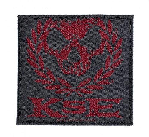 KILLSWITCH ENGAGE - Skull Wreath --- patch.JPG