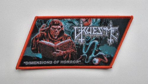 GRUESOME - Dimensions of Horror [brown] --- patch.JPG