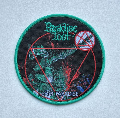 PARADISE LOST - Lost Paradise [green] -- patch.JPG