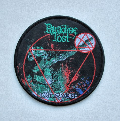 PARADISE LOST - Lost Paradise [black] -- patch.JPG